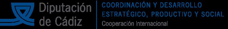 logo diputación Cádiz cooperación internacional